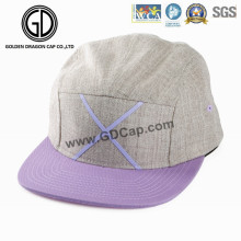 2016 Beautiful Lovely Hat Design Purple Khaki Camper Snapback Cap